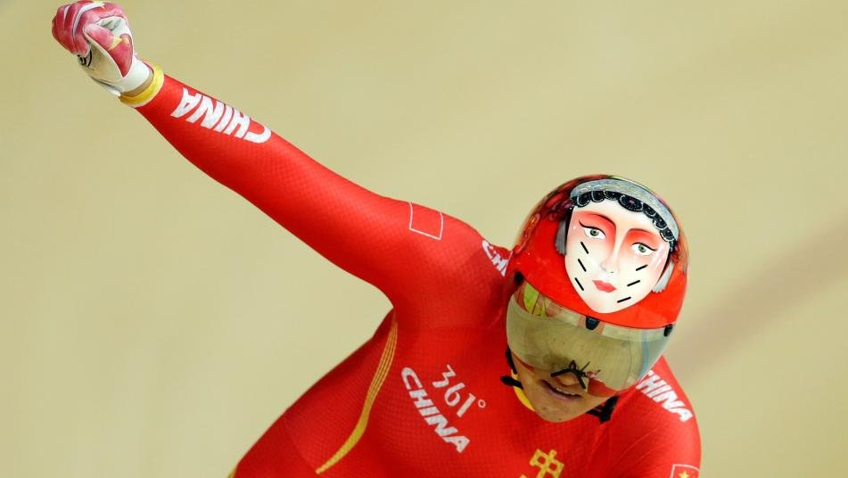 Olympic: China win track cycling gold in women's team sprint