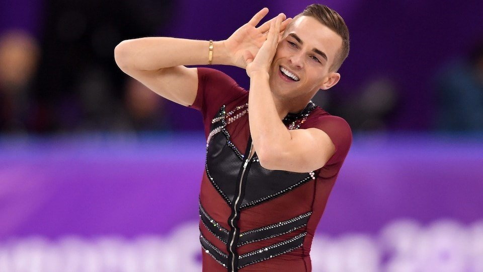 Porn cartoons all of the hilarious and heartwarming adam rippon moments from the winter olympics