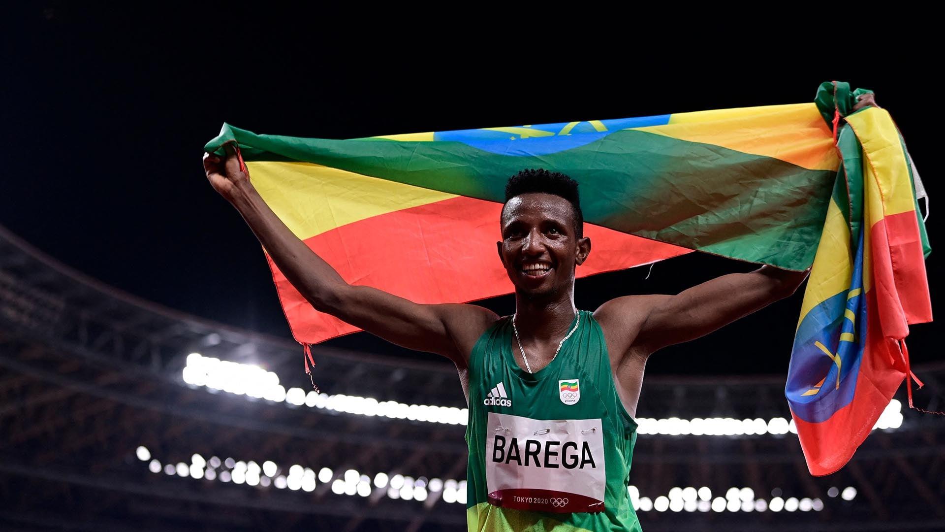 Ethiopia lauds Barega's stunning 10,000m win - WRCBtv.com